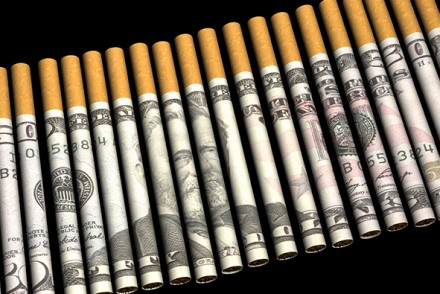 tabac 15 milliards d'amende