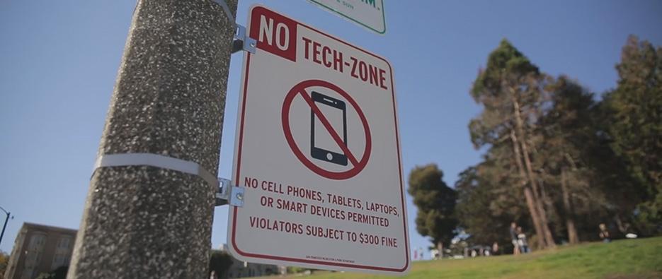 No tech zone