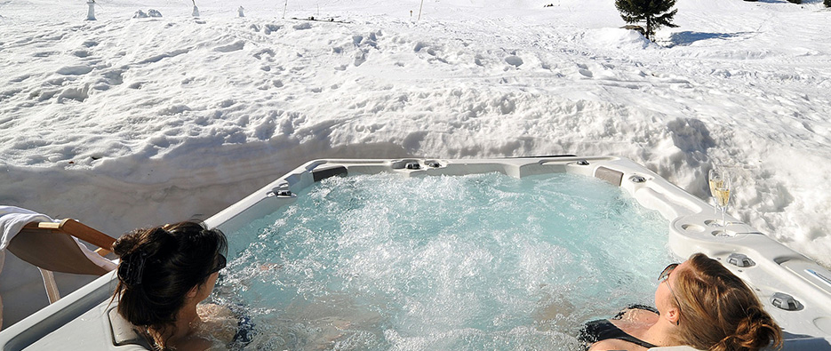 jacuzzi courchevel